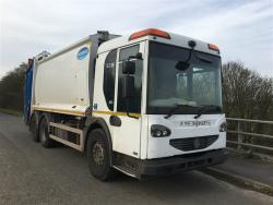 Euro 6 2015 26T Dennis Eagle Elite 6, Olympus with Dennis Eagle Beta Bin Lift