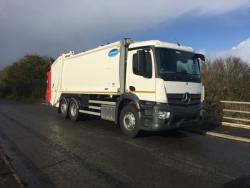 Euro 6 2015 26T Mercedes Antos, Olympus Dennis Beta Lift