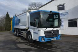 Euro 6 2016 26T Mercedes Econic, Olympus Beta Trade Lift