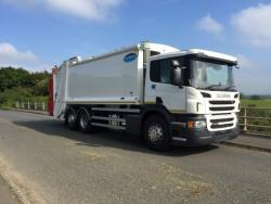 Euro 6 2016 26T Scania, Dennis Olympus with Beta Trade Lift