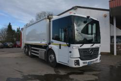 Euro 6, 2017, 26T, Mercedes Econic, Dennis Olympus with Beta Trade Lift
