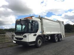 Euro 5 2009 26T, Dennis Eagle Elite, Olympus Narrow with Terberg Omnidel Bin Lift