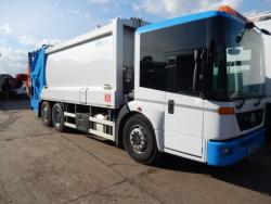 Mercedes Econic, Hillend Powerlink complete with Dennis Beta Trade Lift