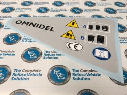 Omnidel Grey Panel Decal RH