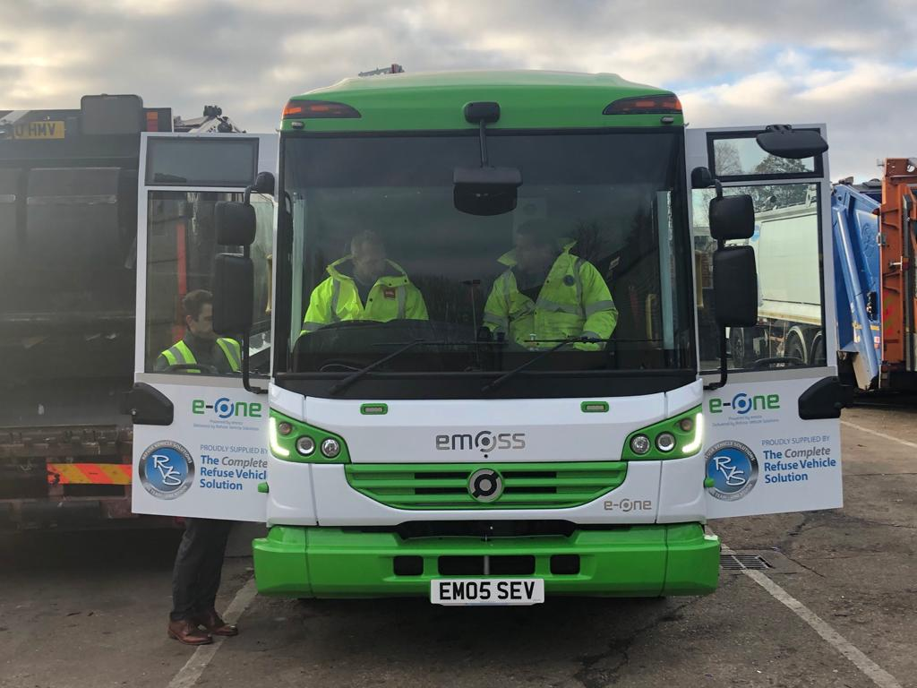 Biffa Portsmouth impressed with electric vehicle performance