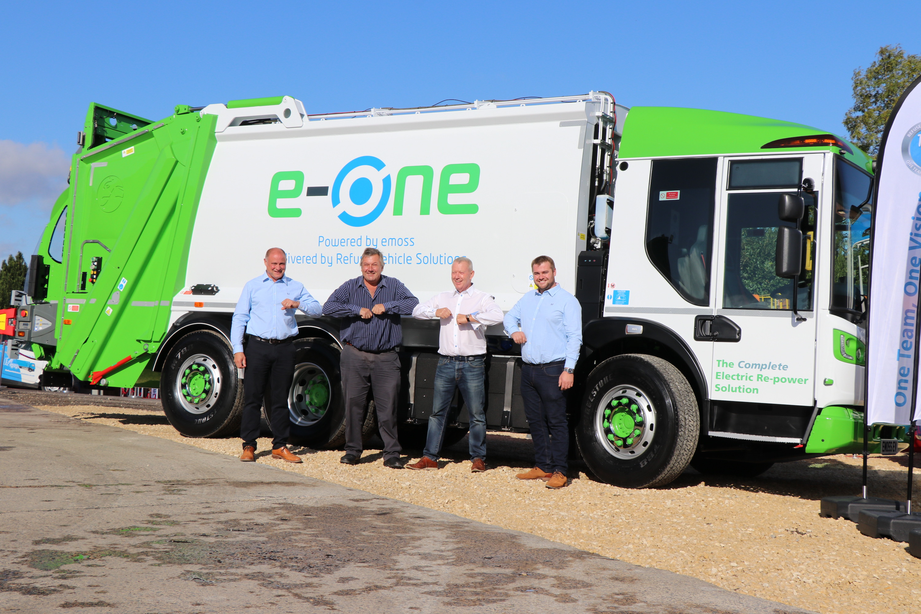 e-One electric refuse vehicle sells out on day one!