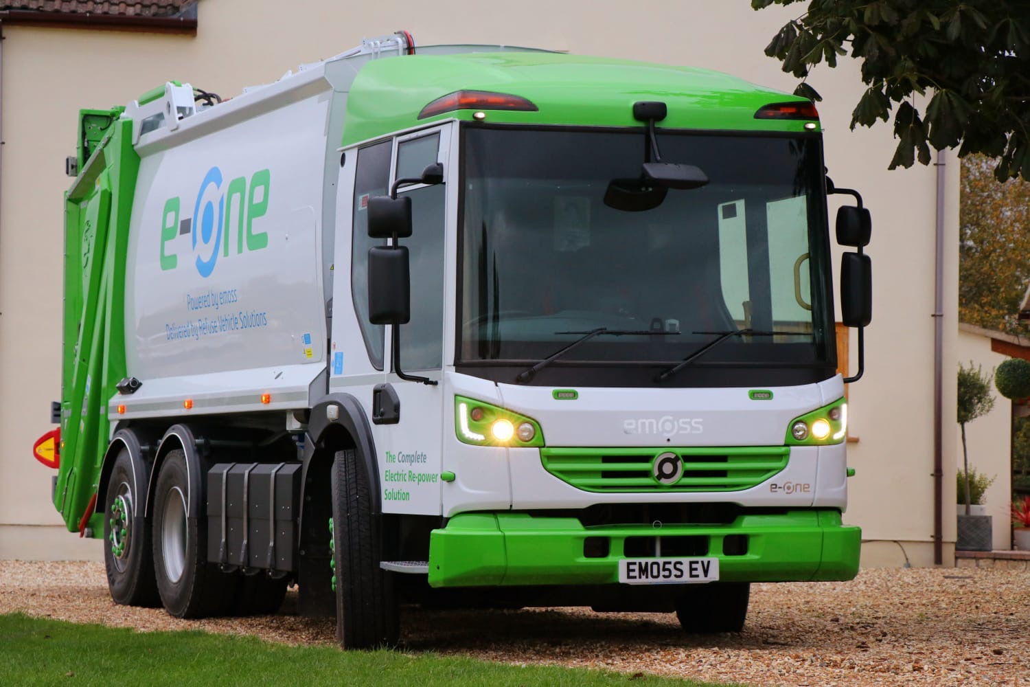 RVS ranked highest for electric refuse vehicle conversion on new HGV framework