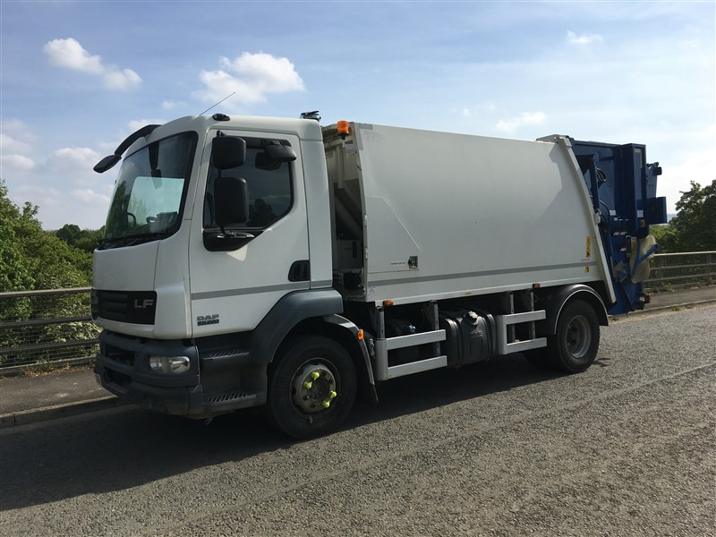 Euro 5 2013 16T DAF LF55 220, NTM K2K Maxi with NTM Bar